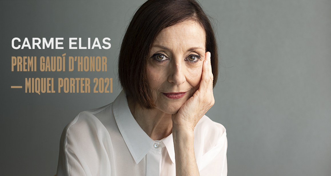 Carme Elias, Gaudí d'Honor 2021