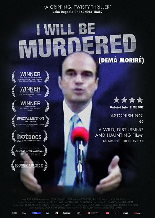 I Will Be Murdered (Demà moriré)