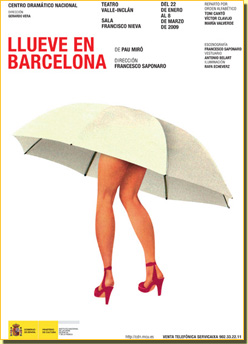 Plou a Barcelona